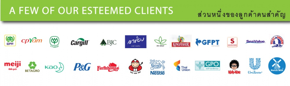 A FEW OF OUR ESTEEMED CLIENTS